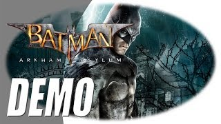Batman: Arkham Asylum DEMO (Xbox360 gameplay)