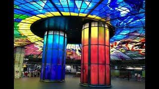 KMRT Formosa Boulevard Station 美麗島站 Kaohsiung Taiwan 高雄 台湾 Subway Red
