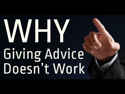 Hypnosis Talk: Why Giving Sympathy & Advice Doesn't Work