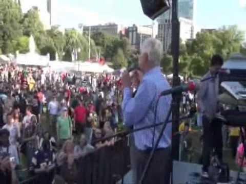 Judge Jim Gray At Boston Freedom Rally