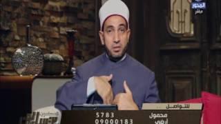فيديو.. «عبد الجليل» يوضح الحكم فى شراء الكفن وتركه فى البيت