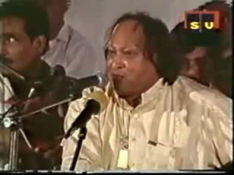 Ustad Nusrat Fateh Ali Khan - Wo Kab Aaye Khuda Jaane Sitaro Tum To So Jaooo