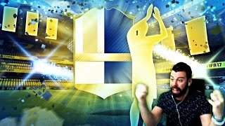 OMFG LEGEND AND 90+ TOTS IN THE SAME PACK!!!!! FIFA 17 Ultimate Team TOTS Pack Opening
