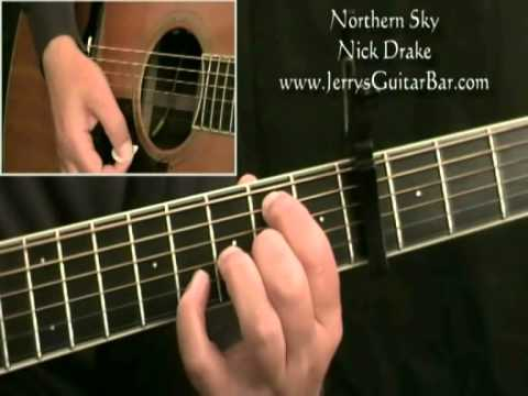 How To Play Nick Drake Northern Sky (intro only)