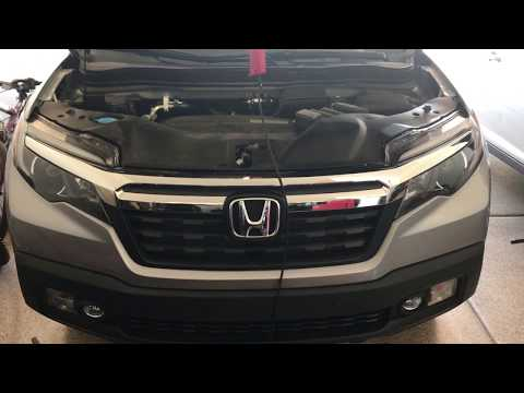 2017 Honda Ridgeline Radiator/Battery Access