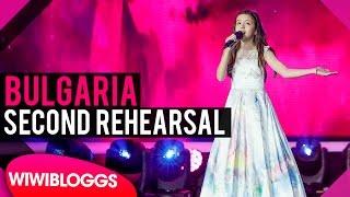 "Second rehearsal: Lidia Ganeva (Bulgaria) Junior Eurovision 2016 ""Magical Day"""