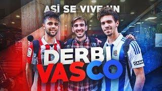 🔴 ASÍ SE VIVE UN DERBI VASCO 🔵 ATHLETIC - REAL SOCIEDAD   Futbolín On Tour
