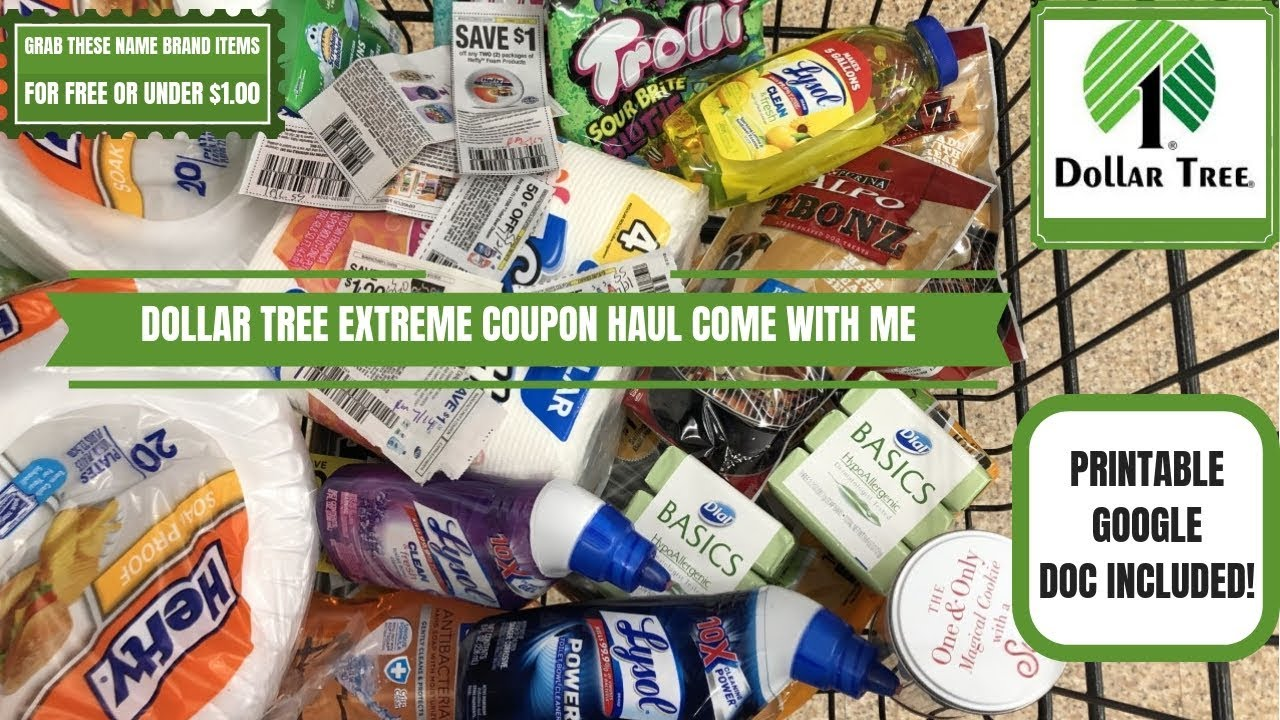photograph about Printable Dollar Tree Coupons named Greenback TREE 🌳 Excessive COUPON HAUL~Occur WITH ME~Within just Retailer Popularity Brand name Merchandise FOR Totally free OR Less than $1.00