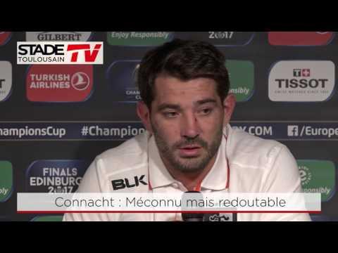 Connacht-Stade : Interview de Flo Fritz