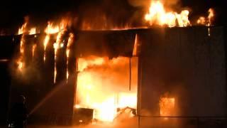 GPTV: Grote brand Marconistraat in Harlingen