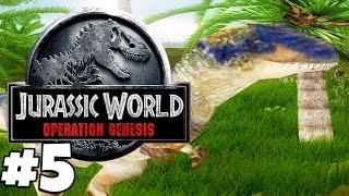 Jurassic Park: Operation Genesis | Gameplay Part 5 | MURDEROUS PTERANODON