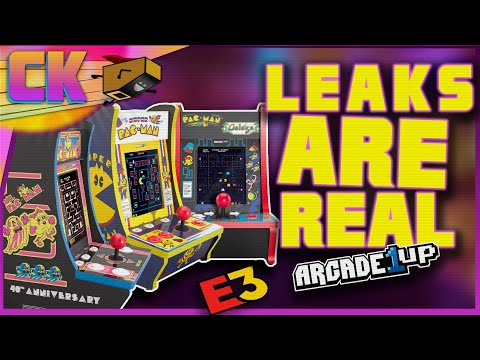 Arcade1Up - Simpson + Tron + Babycade = ALL REAL LEAKS! from Console Kits