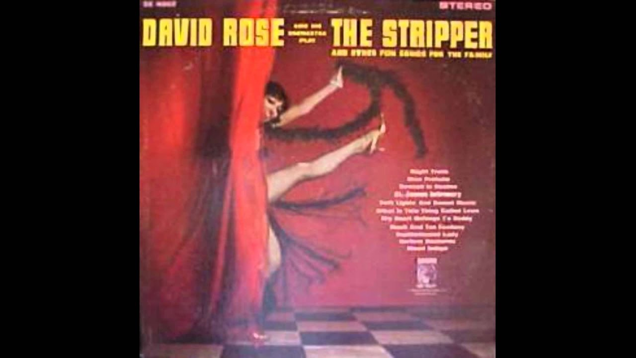 stripper music david rose