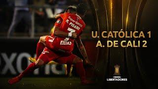 Universidad Católica vs. América de Cali [1-2] | GOLES | CONMEBOL Libertadores 2020