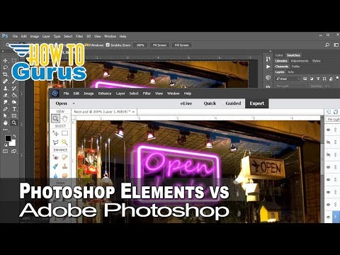 Photoshop Elements Vs Photoshop CC : Compare And Review Side By Side