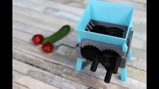 Was kann der Schredder aus dem 3D Drucker alles schreddern?
