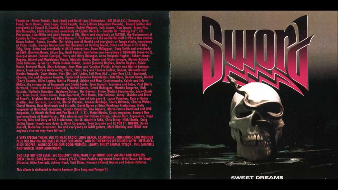 Sword - Sweet Dreams (Lyrics) - YouTube
