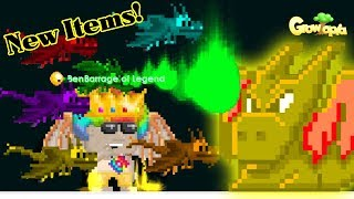 Power of Ethereal Rainbow Dragon + MORE! Carnival Update! Review! | Growtopia