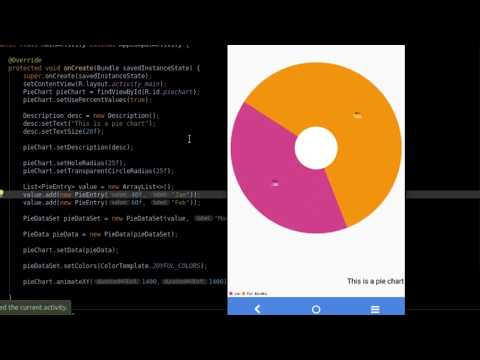 Creating A Pie Chart - Android Tutorial