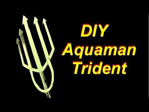 DIY Aquaman Trident - Cheap and Easy