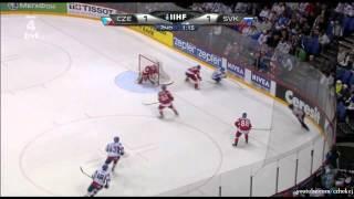 Slovensko - Česko 3:1 Semifinále Ms 2012