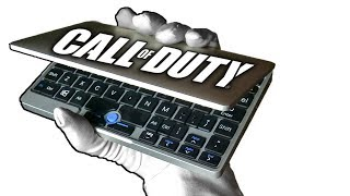 INSANE MINI LAPTOP! Unboxing GPD Pocket + Call of Duty Black Ops 2 Zombies Gameplay