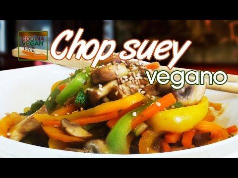 Chop suey vegano  Cocina Vegan Fcil  YouTube