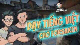 DEV DẠY TIẾNG VIỆT CHO PRO PLAYER INDONESIA-FORSAKEN ft. BOMMAN