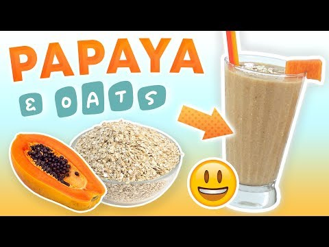 papaya-oatmeal-smoothie-(colon-cleansing-smoothie-recipe)