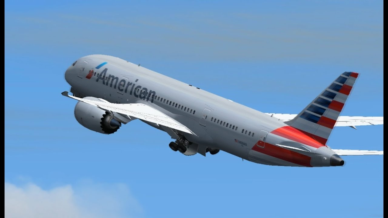 American airlines boeing 787 8 n800an landing and for American airlines plane types