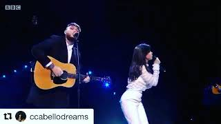 JAMES ARTHUR AND CAMILA CABELLO PERFORMANCE AT TEEN AWARDS (say you won't let go)
