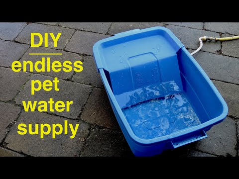 DIY ●  Endless Dog Water Supply
