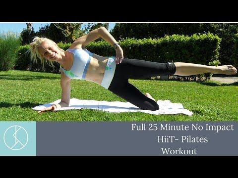 Non -Impact, HiiT- Pilates Workout Part One