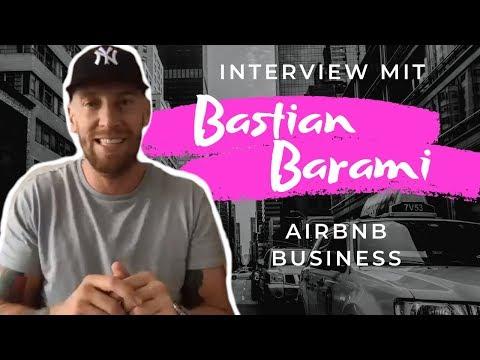 Mit AirBnB um die Welt | Interview mit Bastian Barami von Officeflucht zu seinem AirBnB Business