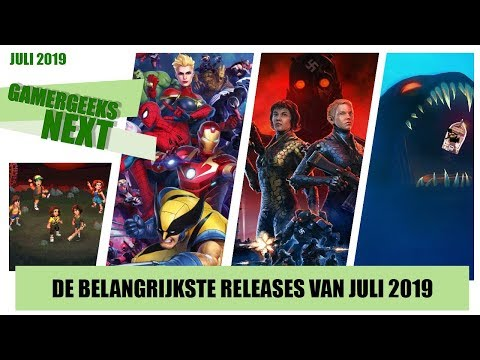 Game releases juli 2019 - Marvel UA 3, Wolfenstein: Youngblood, Sea of Solitude en meer! |