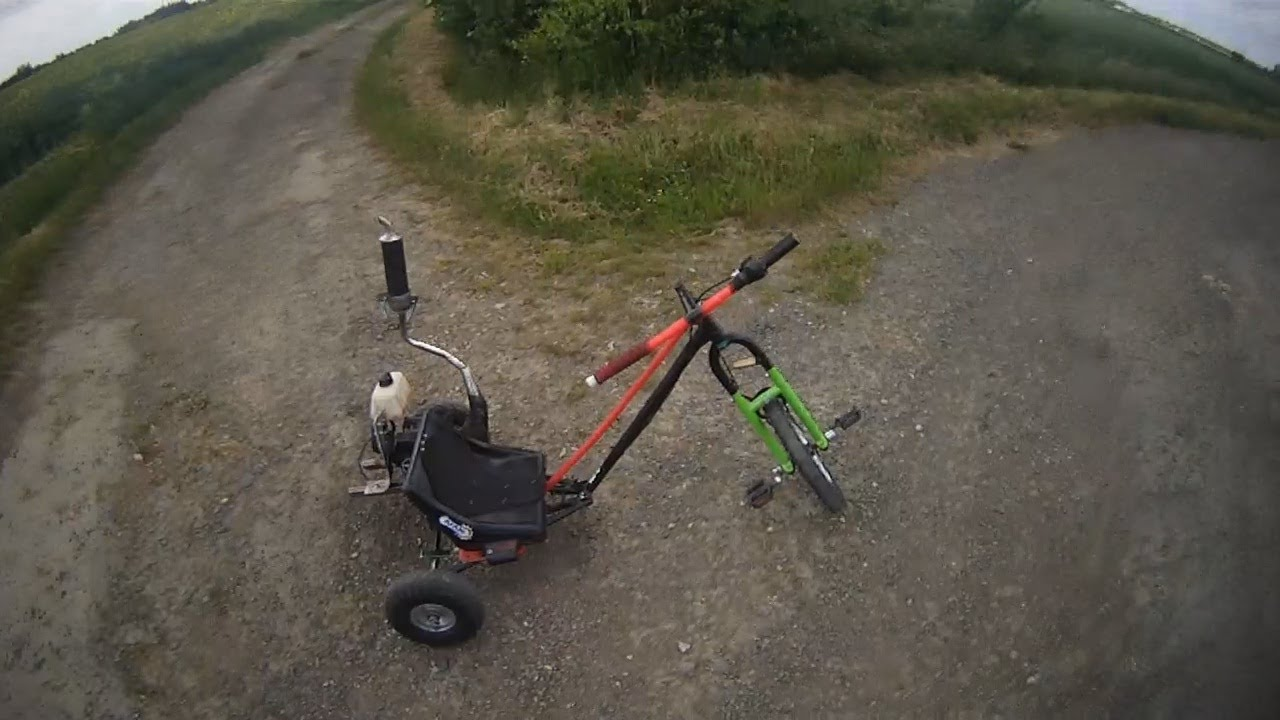 Trike Fait Maison Gopro Hd Youtube
