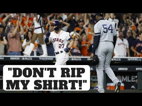 """Astros Cheating In 2019 ALCS? """"Don't Rip My Shirt!"""" - José Altuve"""