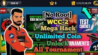 No Root  Wcc-2 Mega Hack || Version-2.8.8 || Unlimited Coin || Unlock All Tournament || Diy Abir