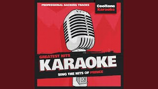 Cream (Originally Performed by Prince) (Karaoke Version)