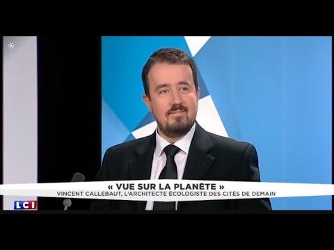 Interview of Vincent Callebaut Architect on LCI