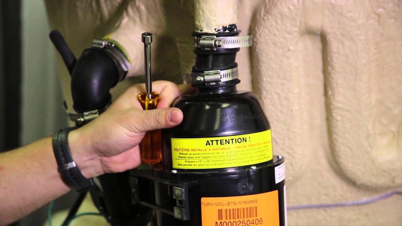 How to Replace a Motor With Geysair on a BainUltra Bathtub - YouTube