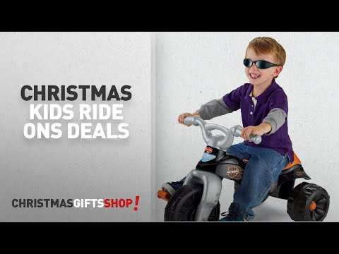 Christmas Sale - Kids Ride Ons: Fisher-Price Harley-Davidson Tough Trike