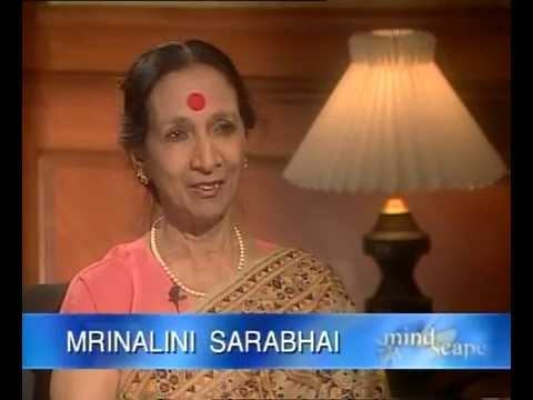 CONVERSATION -  MRINALINI SARABHAI