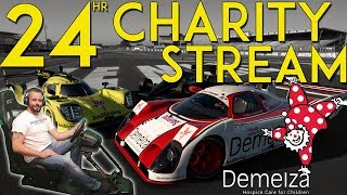 24hr LE MANS CHARITY LIVE STREAM - GT SPORT (the first 12 hours!) thumbnail