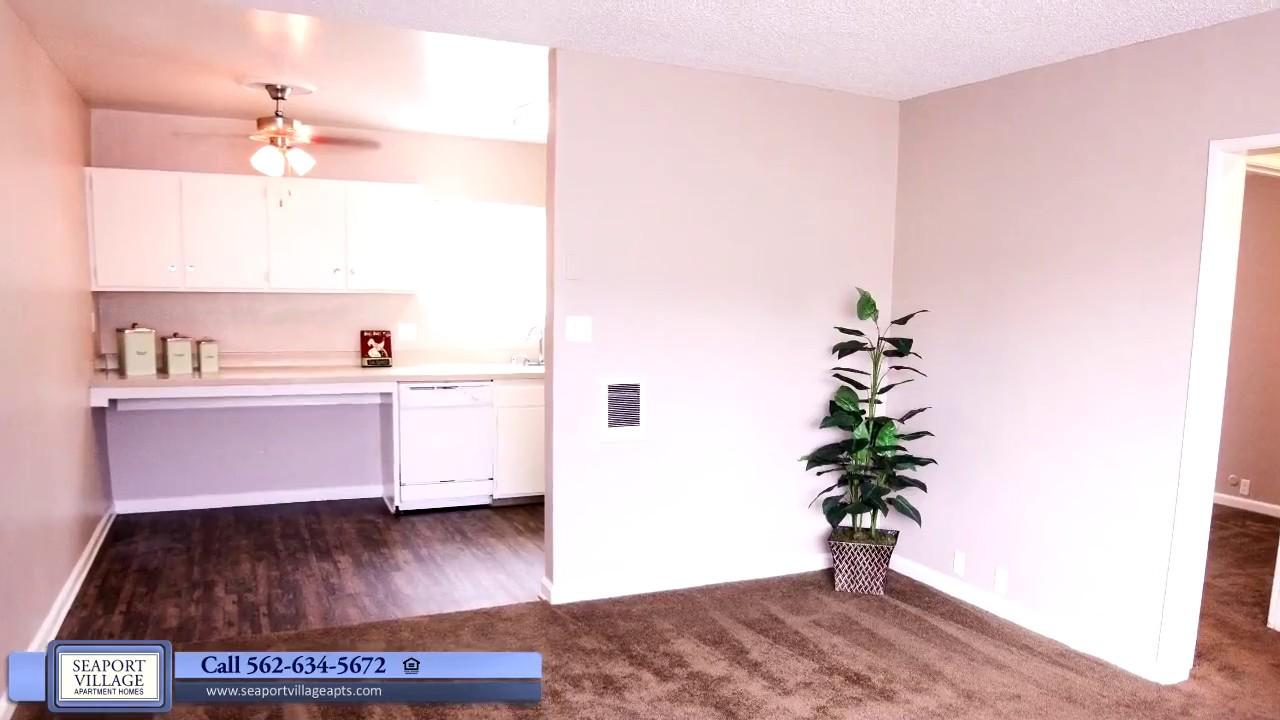 Seaport Village Apartments Video Tour Long Beach California Youtube