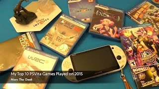 My Top 10 PSVita Games Played in 2015