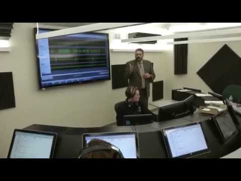 Tour of NTSB flight-data and cockpit-voice recorder laboratories