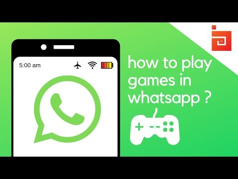 How to play games in Whatsapp 2017new whatsapp trick [no root}{no mod apk}]