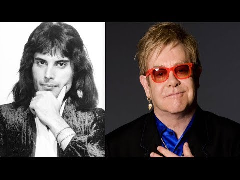 Elton John Has Given A H-artrending Glimpse Into The Final Months Of Freddie Mercury's Life