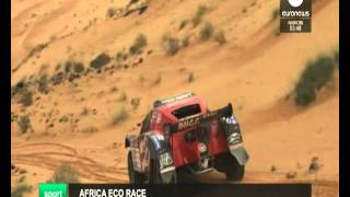 2016 01 07  Euronews Africa Eco Race 2016